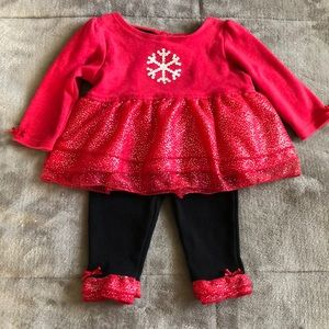 Baby Girl 2-Piece Holiday Outfit